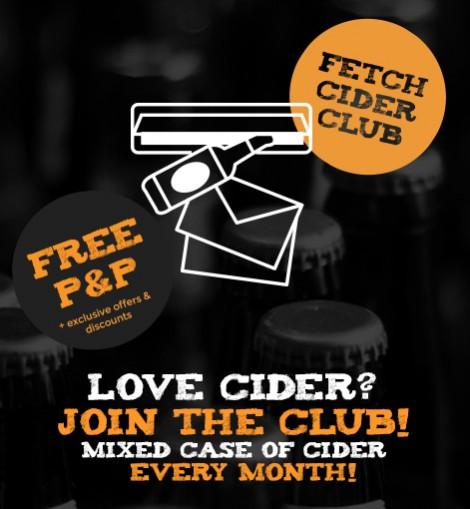 Fetch Cider Club Subscription
