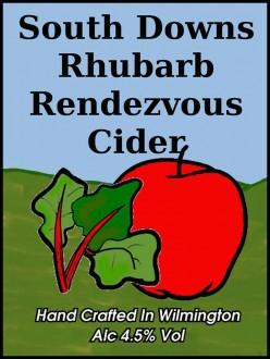 south downs rhubarb