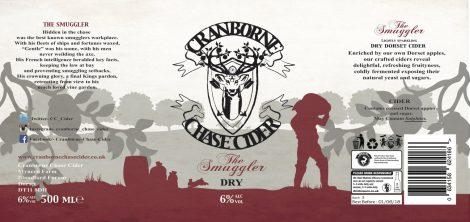 Cranborne Chase - The Smuggler 6.0% 12 x 500ml bottles