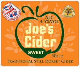 Purbeck Cider - Joe's Sweet 4.5% 20l Bag in Box