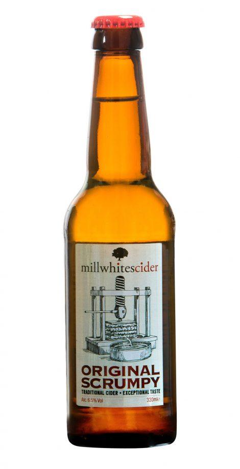 Millwhites Cider - Original Scrumpy 6.5% Case of 12 x 330 ml bottles