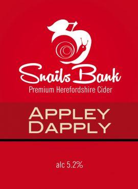 Snails Bank - Appley Dappley 5.2% 20 litre bag in box