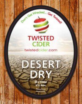 Twisted Cider - Desert Dry 6% 20 Litre Bag in box