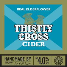 Thistly Cross Cider - Elderflower cider 4% 20 L Bag In Box