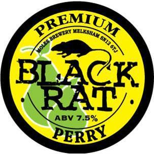 Black Rat - Perry 5.2% 20 litre bag in box