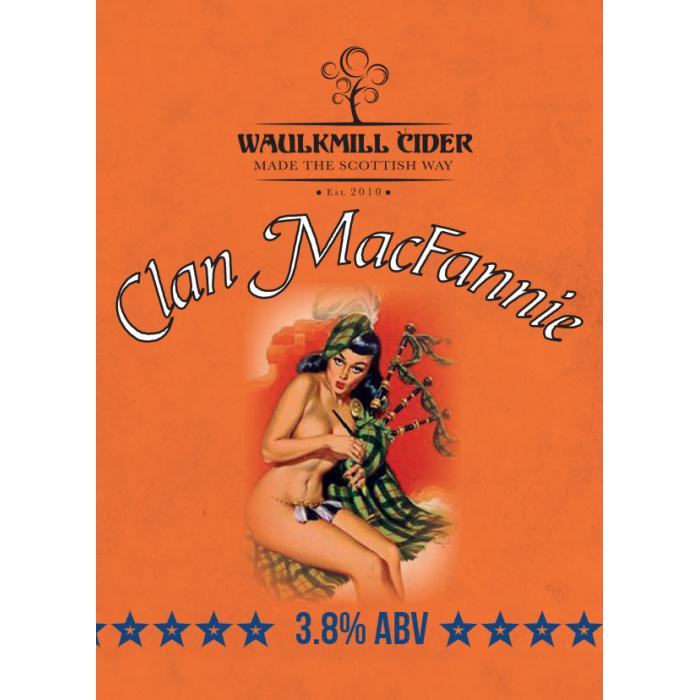 Waulkmill Cider - Clan Macfannie with Irn Bru 4% 20 Litre Bag in Box