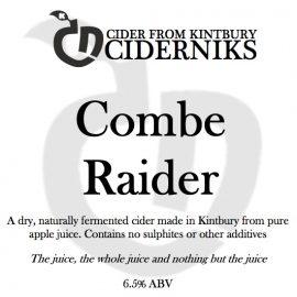 Ciderniks - Combe Raider 6.5% 20 Litre Bag in Box