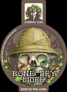 Dudda's Tun - Bone Dry 5.5% 20 litre bag in box