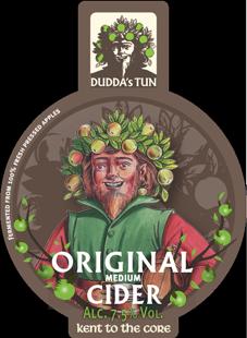 Dudda's Tun - Original 7.5% 20 litre bag in box