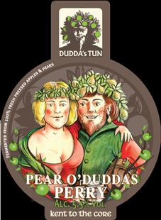 Duddas Tun - Pear O'Duddas 4.0% 20 litre bag in box