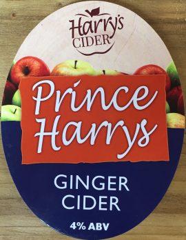 Harrys Cider - Prince Harrys 4% 20 litre bag in box