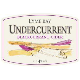 lyme bay - undercurrent (blackcurrant) 4% 20 litre bag in box