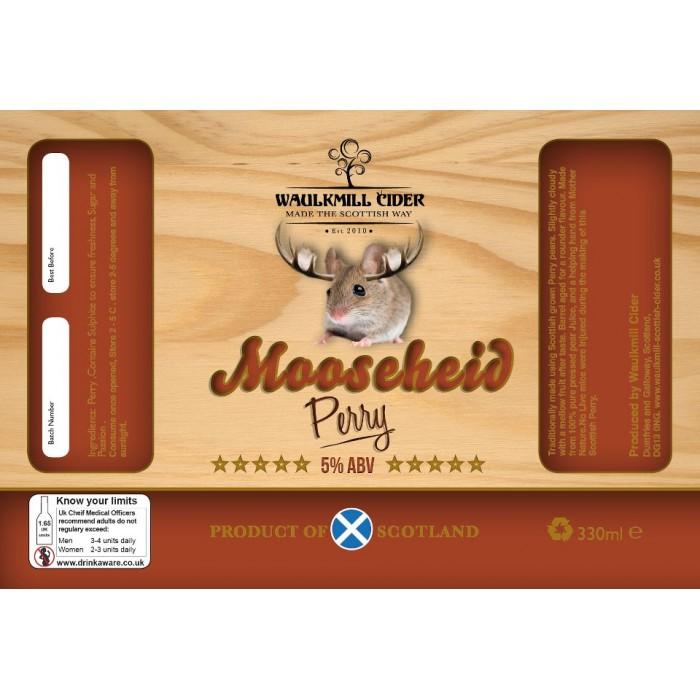 Waulkmill Cider - Mooseheid Perry 5% 20 Litre Bag in Box