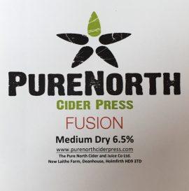 Purenorth - Fusion 6.5% 20 litre bag in box