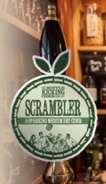 The Bottle Kicking Cider Company - Scrambler 7.0% 20 litre bag in box