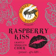 Dorset Nectar - Raspberry kiss 4% - 20L Bag in Box