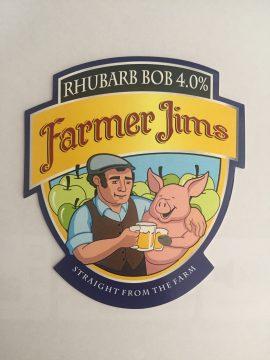 Farmer Jim's - Rhubarb Bob 4% 20 Litre Bag in Box