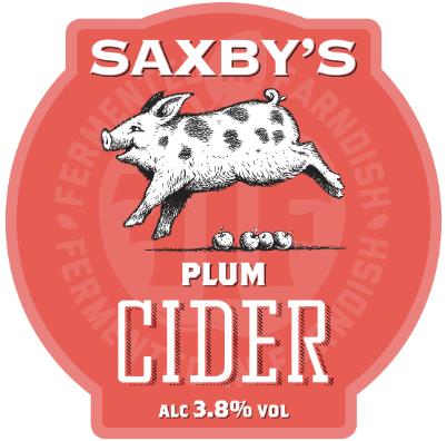 Saxbys Cider - Plum Cider 3.8% 20 Litre Bag in Box