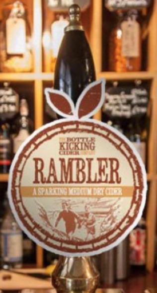 The Bottle Kicking Cider Company - Rambler 6.0% 20 litre bag in box