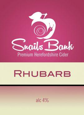 Snails Bank - Rhubarb 4% 20 litre bag in box