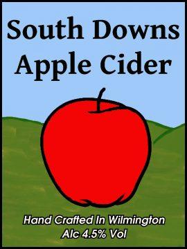 South Downs Cider - Apple Cider 4.5% 20 litre bag in box