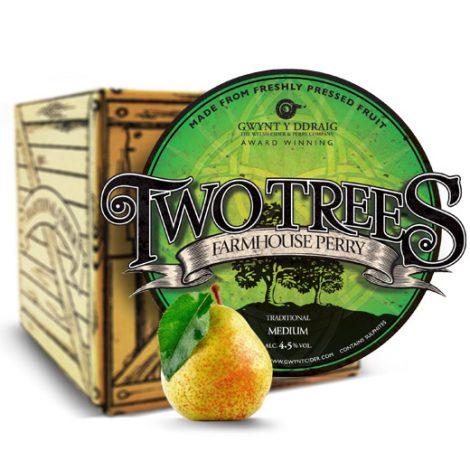 Gwynt Y Ddraig Two Trees Perry - 4.5% 20 Litre Bag in Box