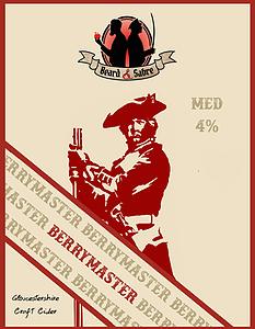 Beard and Sabre - Berrymaster 4% 20 litre bag in box