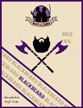 Beard and Sabre - Blackbeard 4% 20 litre bag in box