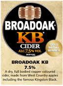 Broadoak Cider - KB 7.5% 20 Litre Bag in Box