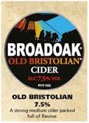 Broadoak Cider - Old Bristolian 7.5% 20 Litre Bag in Box
