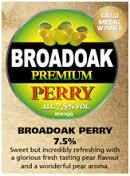 Broadoak - Premium Perry 7.5% 20 Litre Bag in Box