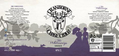 Cranborne Chase - The Whitewigs 6.0% 12 x 500ml bottles