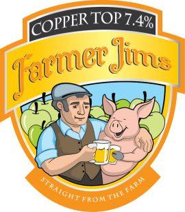 Farmer Jim's - Copper Top 7.4% 20 Litre Bag in Box