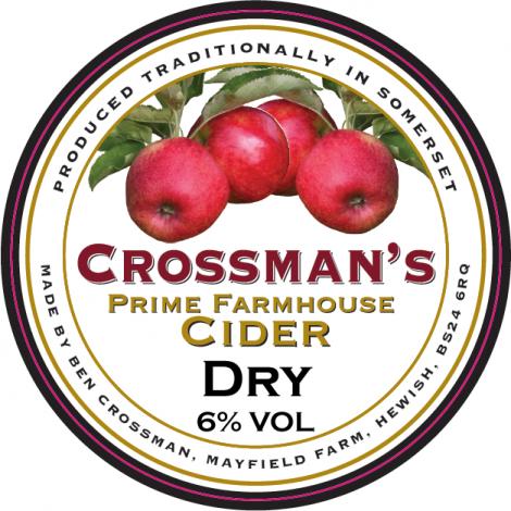 Crossmans - Prime Farmhouse 6.0% 20 litre bag in box