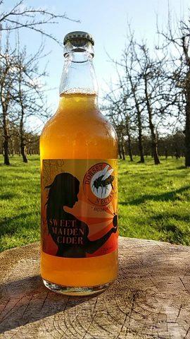 Dorset Nectar Sweet Maiden - Sweet Cider 5.5% - 12x500ml Bottles