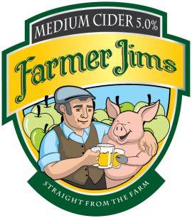Farmer Jim's - Apple Cider 5% 20 Litre Bag in Box