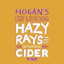 Hogan's - Hazy Rays 3.9% 20 litre bag in box