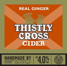 Thistly Cross Cider - Fresh Fruit Ginger 4% 20 Litre Bag in box