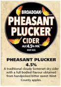 Broadoak Cider - Pheasant Plucker 4.5% 20 Litre Bag in Box