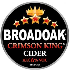 Broadoak Cider - Crimson King 6% 20 Litre Bag in Box