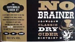 Cotswold Cider Company - No Brainer 6% 20 Litre Bag In Box