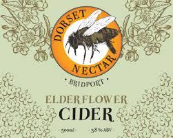 Dorset Nectar Organic Cider - Elderflower 3.8% - 20L Bag in Box