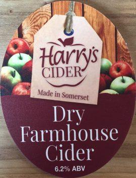 Harrys Cider - Dry Farmhouse 6.2% 20 litre bag in box