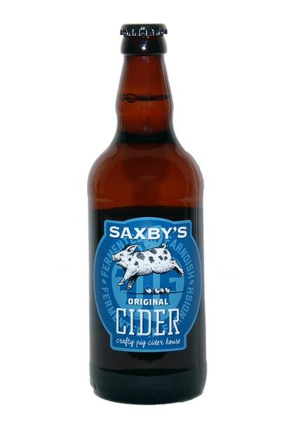 Saxbys Cider – Original Cider 5% 12 x 500ml bottles