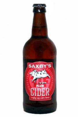 Saxbys Cider – Plum Cider 3.8% 12 x 500ml bottles
