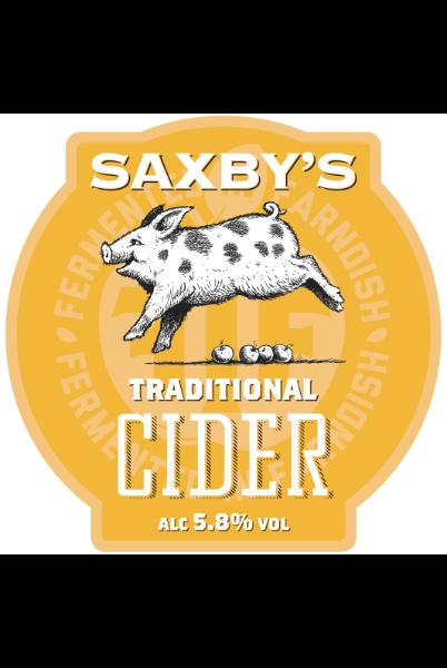 Saxbys Cider - Traditional Cider 5.8% 20 Litre Bag In Box