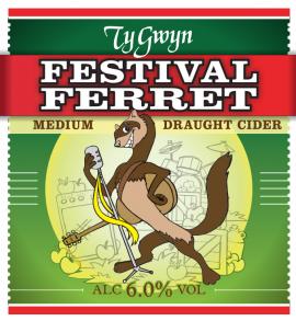 Ty Gwyn - Festival Ferret 6.5% 20 litre bag in box