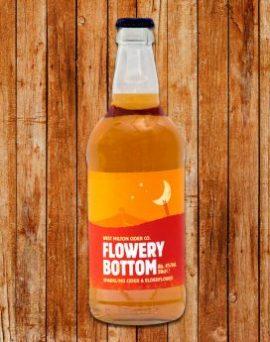 West Milton Cider - Flowery Bottom 4% Case of 12 x 500 ml